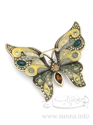 هدية نورس فلسطين الى فراشة الحب Farasha