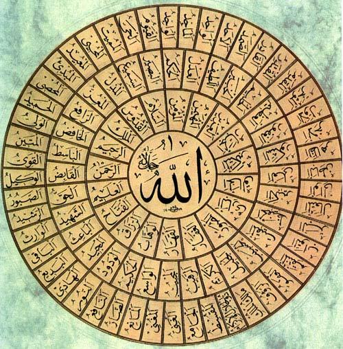 Asma2ullah اسماء الله الحسنى
